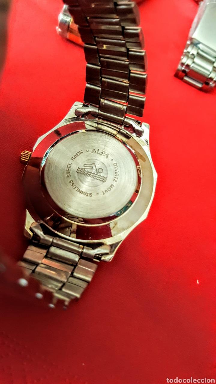 Vintage: Lote de 3 relojes de cuarzo japan NUEVOS procedente de relojeria cerrada todos los relojes funcionan - Foto 8 - 195384600