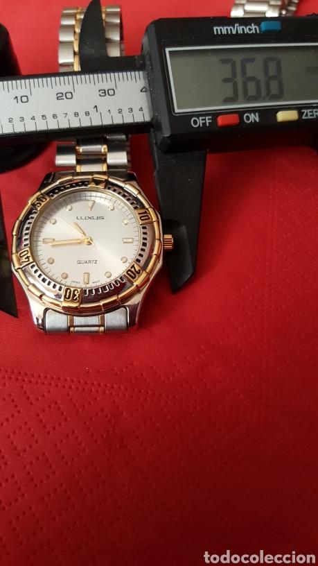 Vintage: Lote de 3 relojes de cuarzo japan NUEVOS procedente de relojeria cerrada todos los relojes funcionan - Foto 10 - 195384600