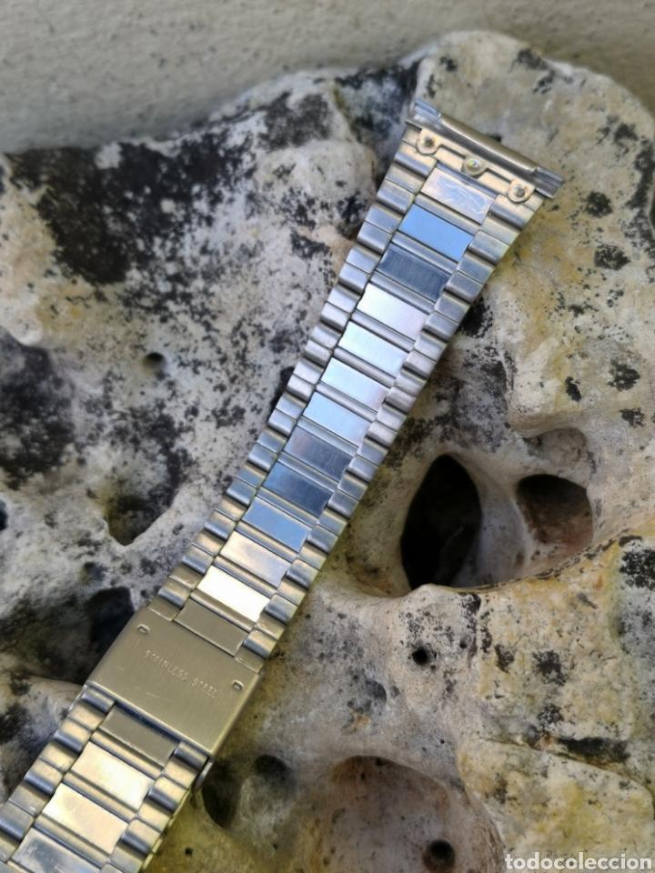 Vintage: AP/2 Correa relojes vintages acero 20 mm NUEVO - Foto 2 - 195386187