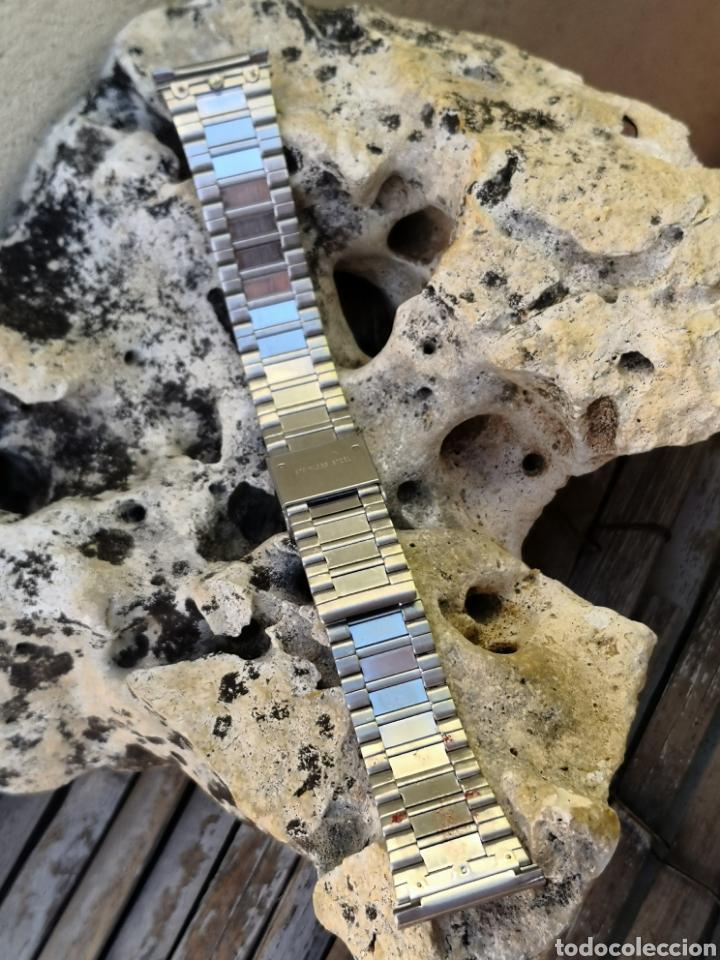 Vintage: AP/2 Correa relojes vintages acero 20 mm NUEVO - Foto 4 - 195386187