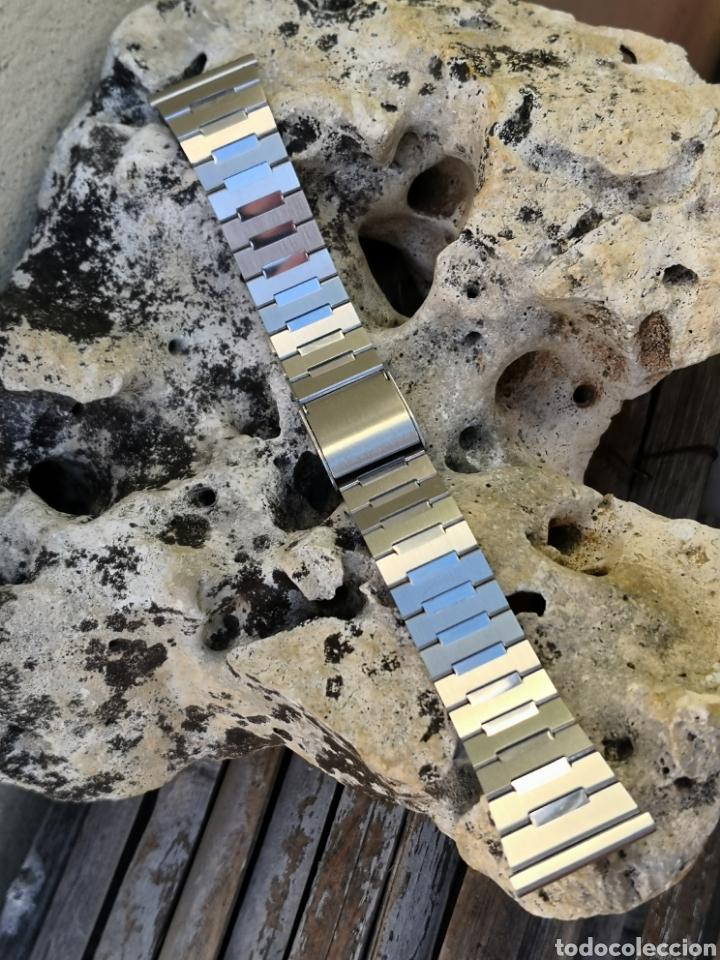 Vintage: AP/2 Correa relojes vintages acero 20 mm NUEVO - Foto 5 - 195386187