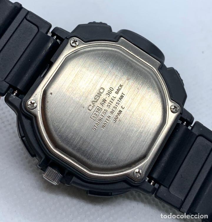 Vintage: Reloj Casio AW-360 Japan vintage nuevo - Foto 6 - 189234927