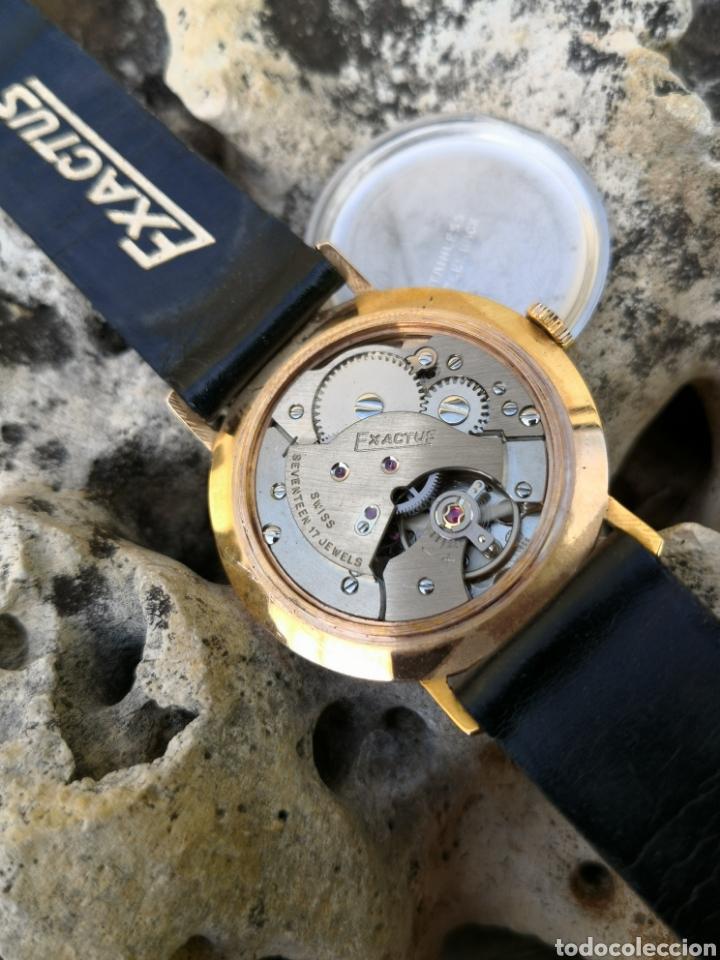 Vintage: ✨C1/5 Reloj vintage Exactus Cuerda NUEVO - Foto 3 - 195386790
