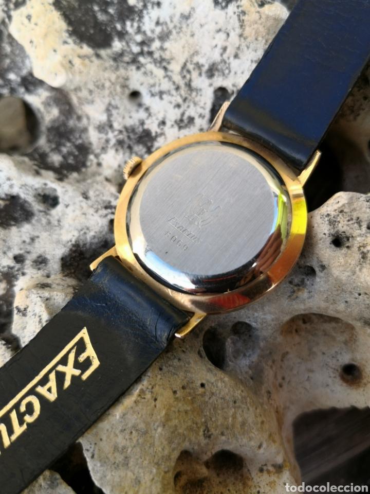 Vintage: ✨C1/5 Reloj vintage Exactus Cuerda NUEVO - Foto 6 - 195386790