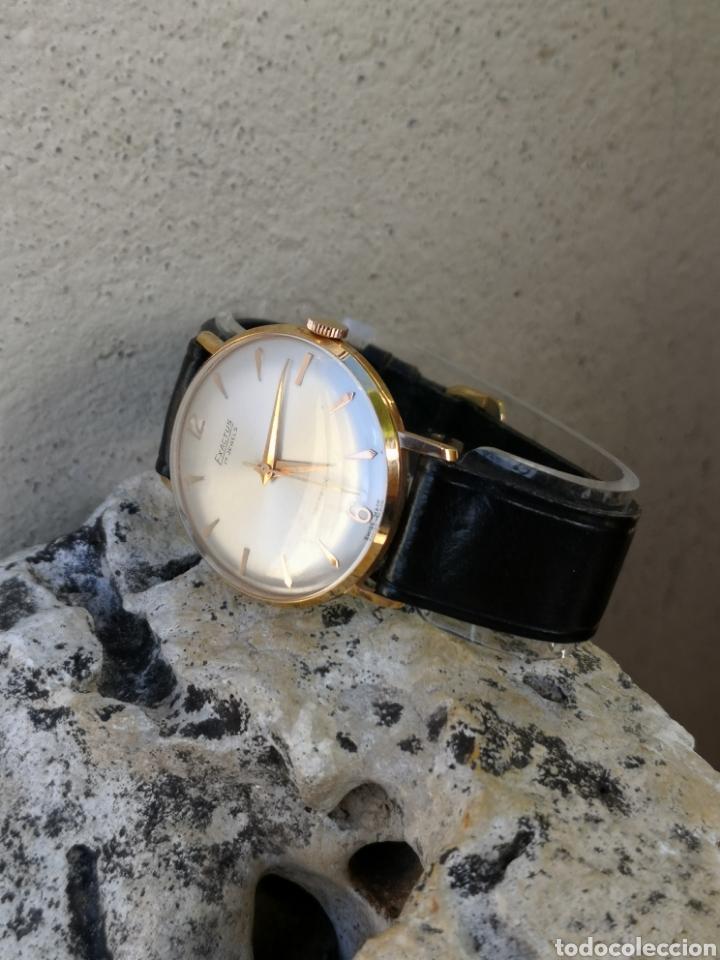 Vintage: ✨C1/5 Reloj vintage Exactus Cuerda NUEVO - Foto 9 - 195386790