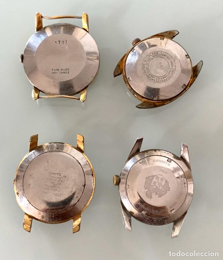 Vintage: Lote relojes antiguos a reparar - Foto 6 - 195388211