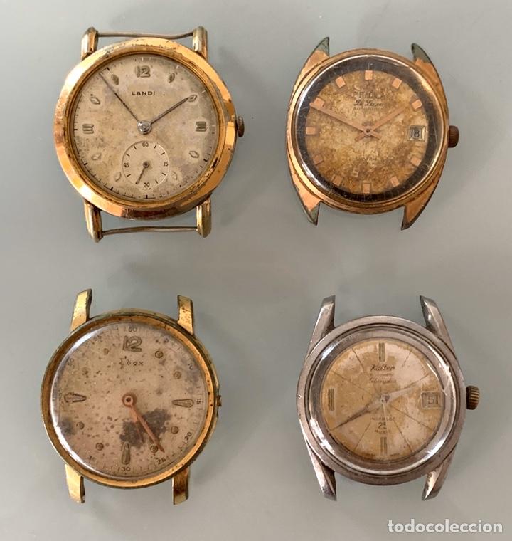 LOTE RELOJES ANTIGUOS A REPARAR (Relojes - Relojes Vintage )