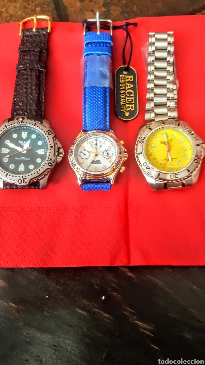 LOTE DE 3 RELOJES DE CUARZO JAPAN NUEVOS PROCEDENTE DE RELOJERIA CERRADA TODOS LOS RELOJES FUNCIONAN (Relojes - Relojes Vintage )