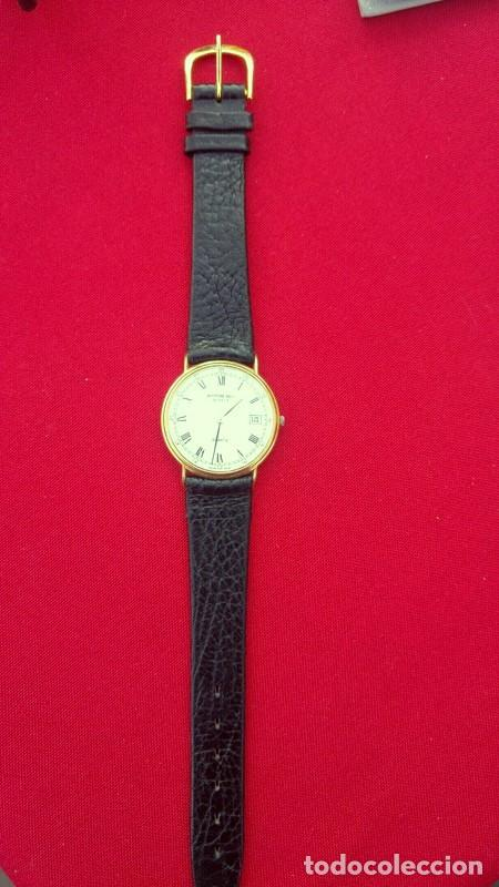 RELOJ VINTAGE PARA HOMBRE RAYMOND WEIL PLAQUE OR 18K , USADO POCO, BUEN ESTADO * (Relojes - Relojes Vintage )