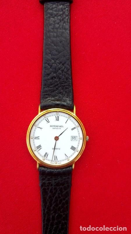 Vintage: Reloj vintage para hombre RAYMOND WEIL plaque or 18k , USADO POCO, BUEN ESTADO * - Foto 2 - 195396375