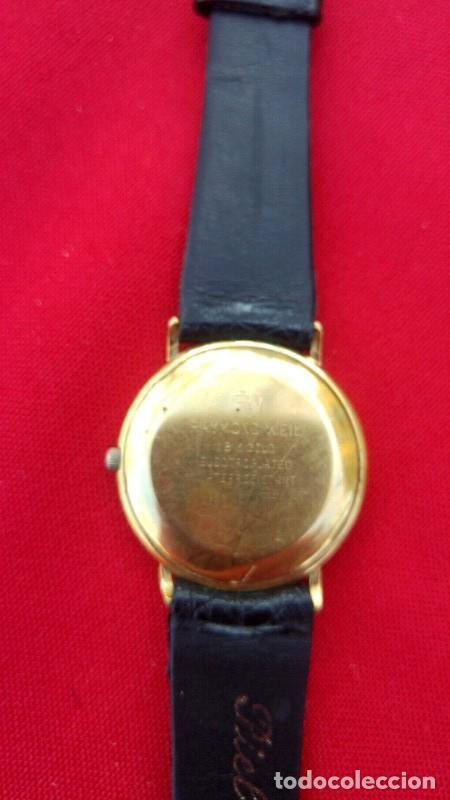 Vintage: Reloj vintage para hombre RAYMOND WEIL plaque or 18k , USADO POCO, BUEN ESTADO * - Foto 3 - 195396375