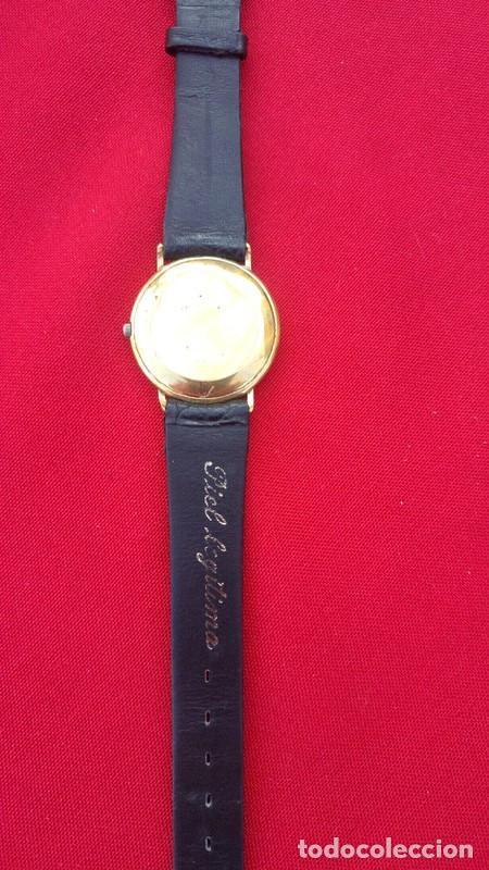 Vintage: Reloj vintage para hombre RAYMOND WEIL plaque or 18k , USADO POCO, BUEN ESTADO * - Foto 4 - 195396375