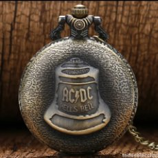 Vintage: RELOJ DE BOLSILLO VINTAGE AC / DC. HELLS BELL. Lote 195475850