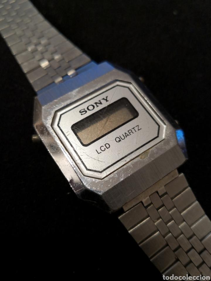 Vintage: Reloj digital Sony lcd quartz - Foto 2 - 195587296