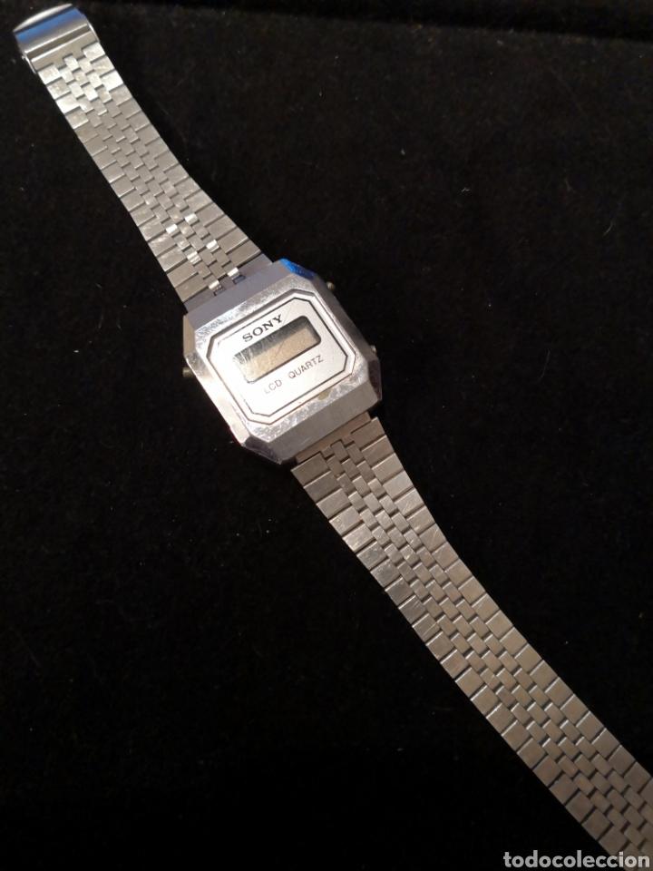 RELOJ DIGITAL SONY LCD QUARTZ (Relojes - Relojes Vintage )