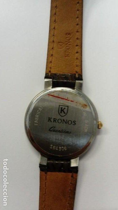 Vintage: Reloj Kronos Quantieme - Foto 6 - 195850012