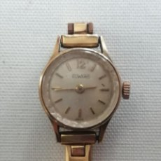 Vintage: RELOJ DE PULSERA DE SEÑORA DUWARD.MADE SWISS.CORREA MET CHAP 10 . Lote 196521405