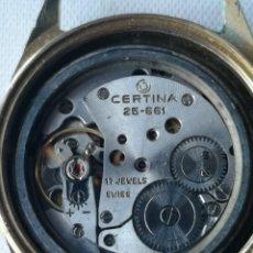 Vintage: MECANISMO DE ANTIGUO RELOJ CERTINA 25-661.. Lote 196592946