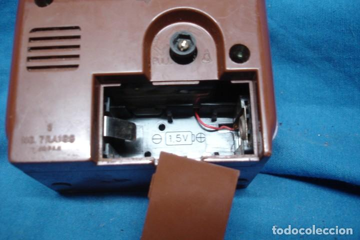 Vintage: RELOJ DESPERTADOR MARCA IMPEX TRANSISTOR MADE IN JAPAN - Foto 3 - 198299786