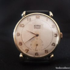 Vintage: EXCELENTE RELOJ DOGMA PRIMA. 15 RUBÍS. AÑOS 60. CON BAÑO DE ORO.. Lote 198474380