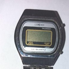 Vintage: RELOJ DE PULSERA DIGITAL COSMOTRON ,CON PULSERA TIPO FISOFLEX. Lote 199244078