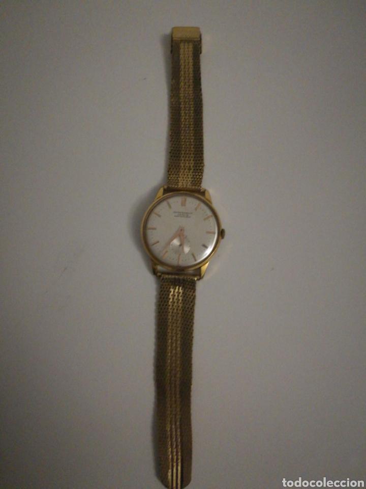 Vintage: Reloj Suizo de pulsera bañado en oro Funciona perfectamente - Foto 2 - 199675241