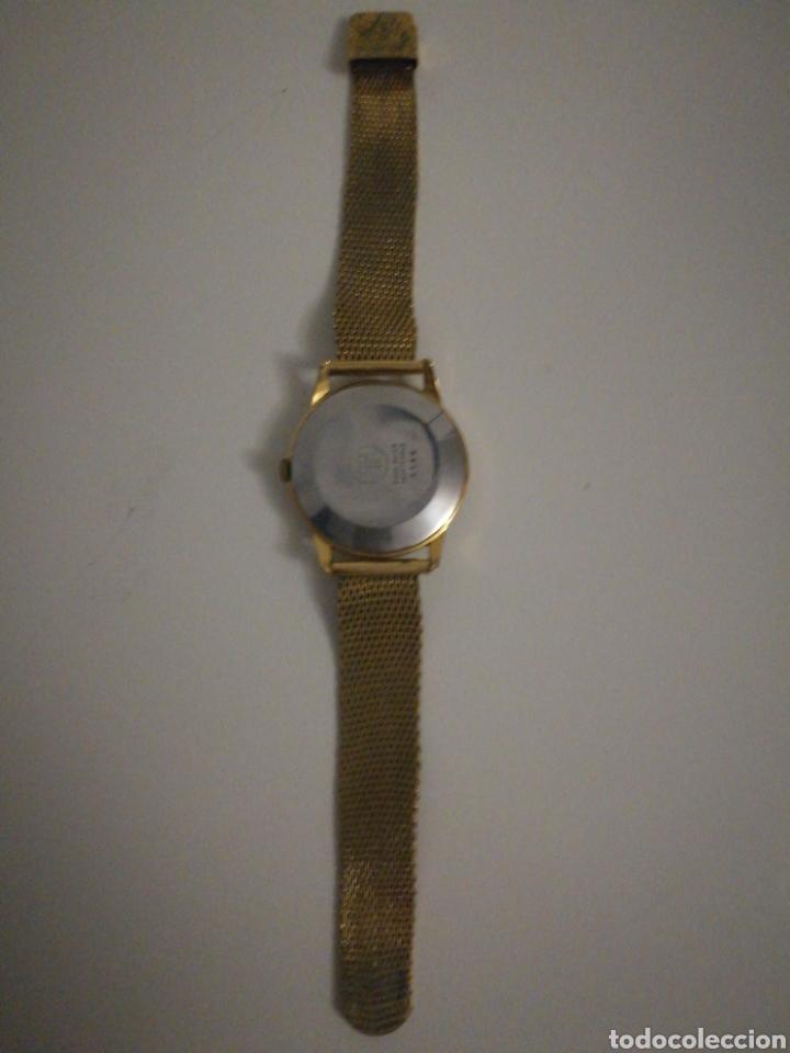 Vintage: Reloj Suizo de pulsera bañado en oro Funciona perfectamente - Foto 3 - 199675241
