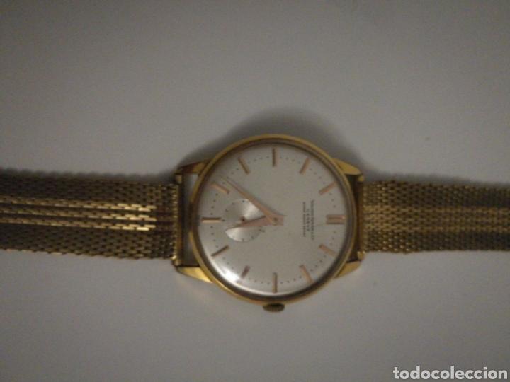 RELOJ SUIZO DE PULSERA BAÑADO EN ORO FUNCIONA PERFECTAMENTE (Relojes - Relojes Vintage )