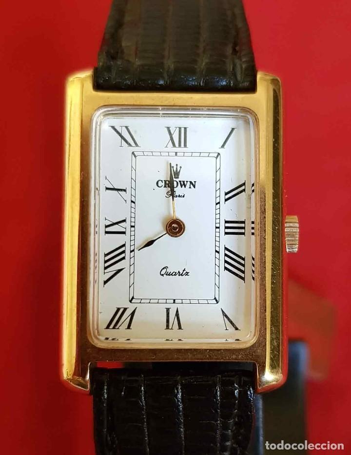RELOJ CROWN, SWISS MADE, VINTAGE, NOS (NEW OLD STOCK) (Relojes - Relojes Vintage )