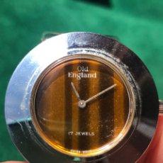 Vintage: RELOJ VINTAGE OLD ENGLAND SUIZO 17 RUBÍS. Lote 201656615