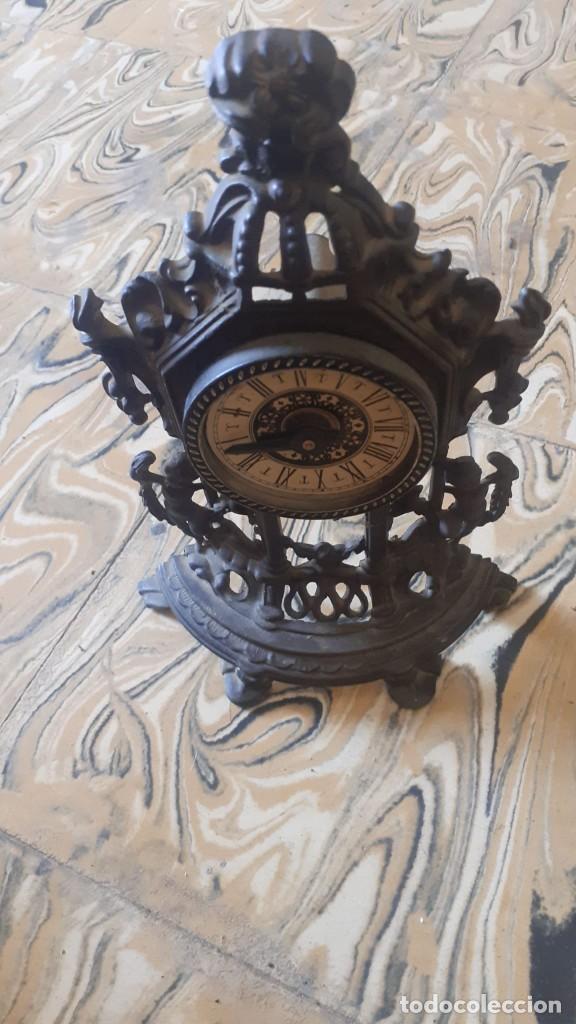 RELOJ DE MESA DE BRONCE (Relojes - Relojes Vintage )