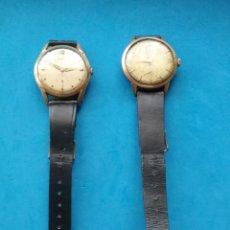 Vintage: PAREJA DE RELOJES PULSERA. DUWARD Y DUCA . NO FUNCIONAN.. Lote 206537678