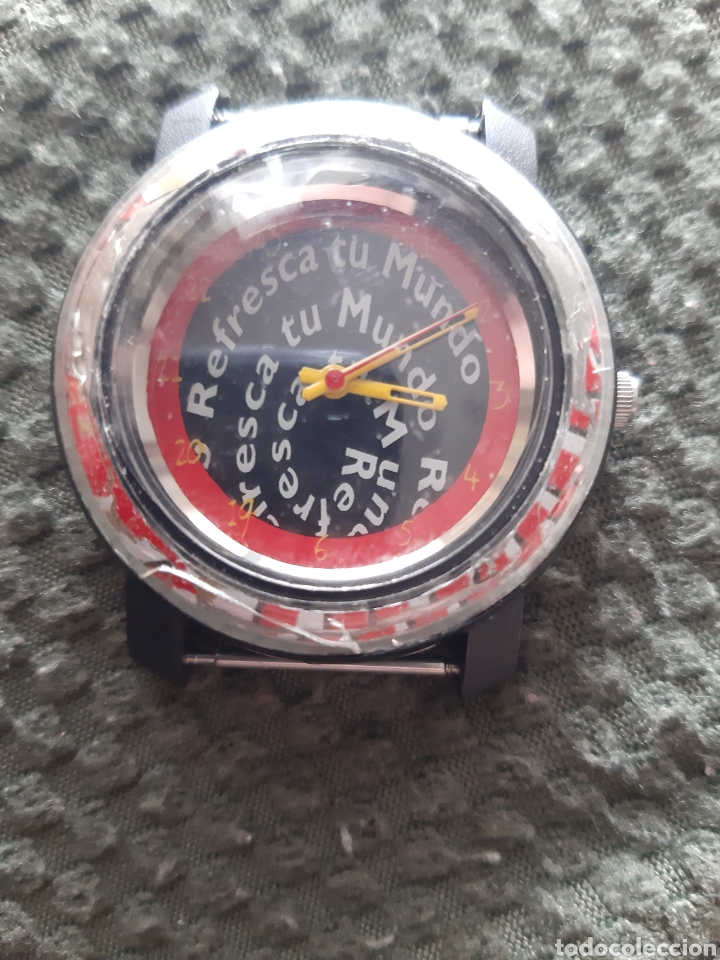 RELOJ REFRESCA TU MUNDO EDICIÓN LIMITADA NUMERADA CRUZCAMPO (Relojes - Relojes Vintage )