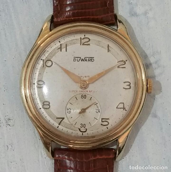 GRAN RELOJ DUWARD DE CABALLERO (Relojes - Relojes Vintage )