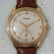 Vintage: GRAN RELOJ DUWARD DE CABALLERO. Lote 206941806