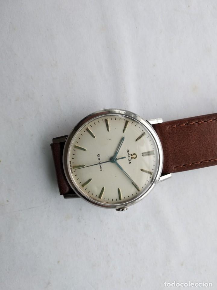 Vintage: Reloj Omega geneve - Foto 8 - 206959540