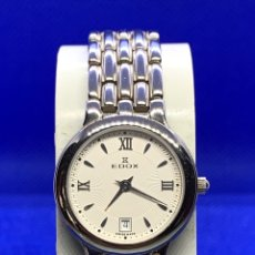 Vintage: RELOJ EDOX REF-51326 VINTAGE DE CHICA NUEVO CON ETIQUETAS. Lote 207131878