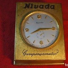 Vintage: RELOJ DE SOBREMESA NIVADA. Lote 207136813
