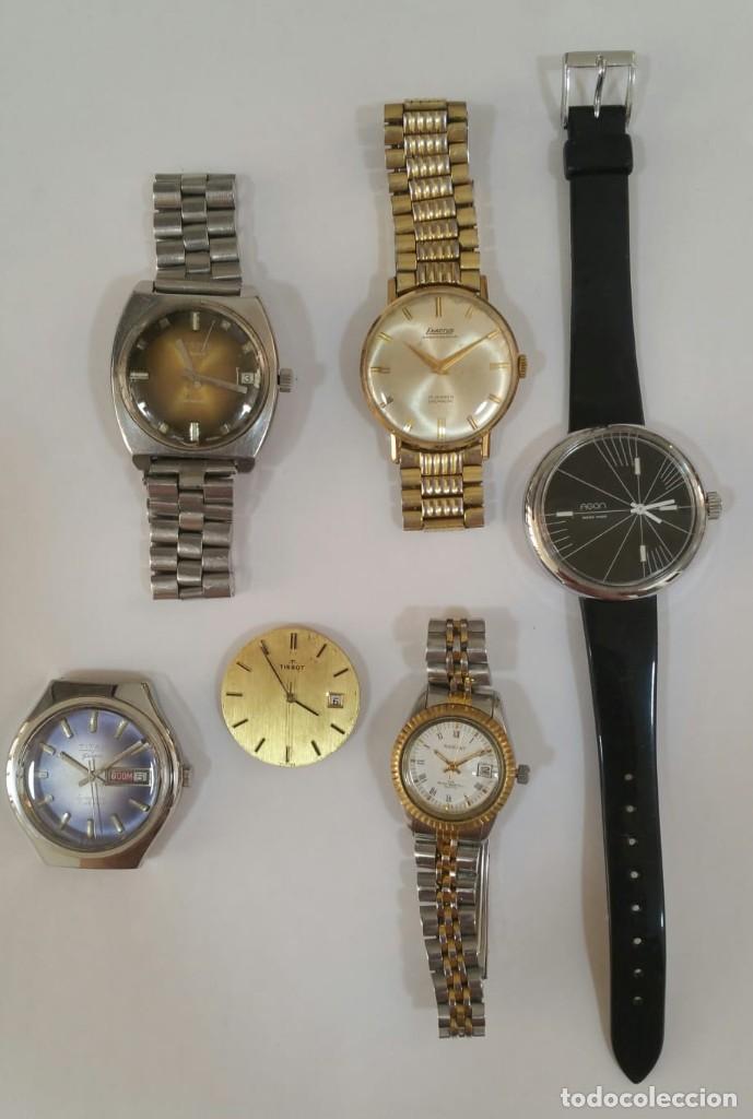LOTAZO 1 DE RELOJES, MAQUINARIAS... ETC (Relojes - Relojes Vintage )
