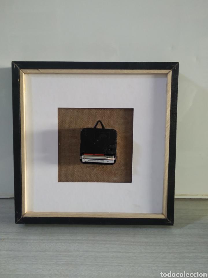 Vintage: Bonito reloj de cocina realizado en punto de cruz artesanalmente - Foto 5 - 209368708