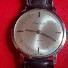 Vintage: RELOJ CRISTAL WATCH 17 RUBIS FUNCIONA BIEN.MIDE 33 MM DIAMETRO. Lote 209931130