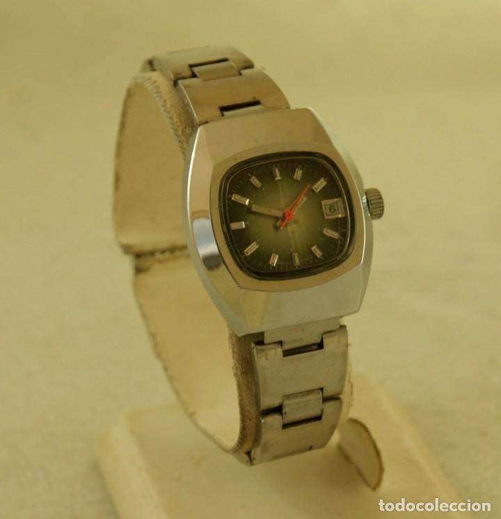 SAVAR DE DAMA MECANICO NOS PRECIOSO COLOR VINTAGE FUNCIONANDO (Relojes - Relojes Vintage )