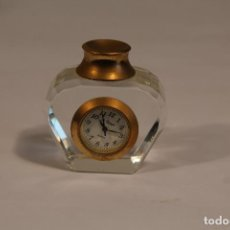 Vintage: RELOJ MINIATURA LE TEMPS QUARTZ - PERFUMERO. Lote 210534420