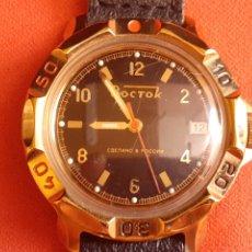 Vintage: RELOJ BOCTOK RUSSIA AUTOMATICO NO FUNCIONA BIEN .MIDE 40 MM DIAMETRO. Lote 210563617
