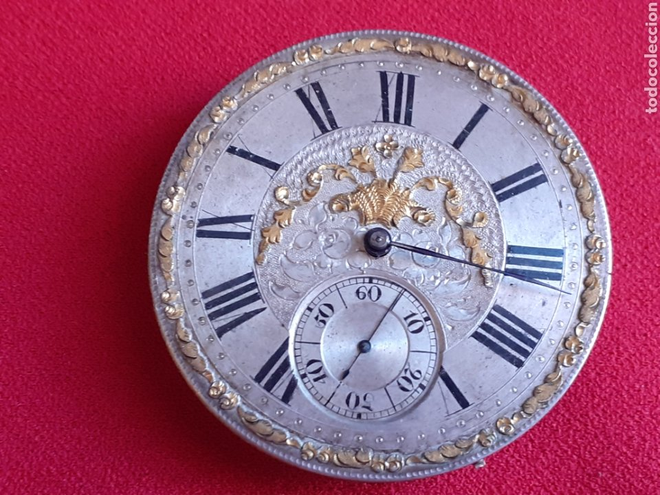 RELOJ BOLSILLO ANTIGUO. ROBERT ROSKELL. LIVERPOOL. NO VA .MIDE 40 MM DIAMETRO (Relojes - Relojes Vintage )