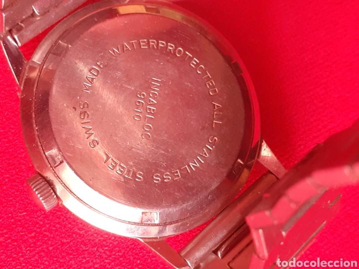 Vintage: RELOJ REPAWATCH 17 RUBIS AUTOMATIC INCABLOC .FUNCION BIEN .MIDE 35 mm diametro - Foto 4 - 210564882