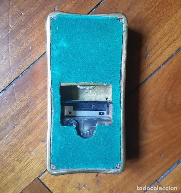 Vintage: Reloj de mesa o pared de la firma Valenti en Lingote de Oro - Foto 3 - 210680962