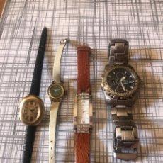 Vintage: LORE RELOJES LOTUS COLECCIÓN 15009,TIMEX ELECRIC,PAX,ETC.. Lote 210838147
