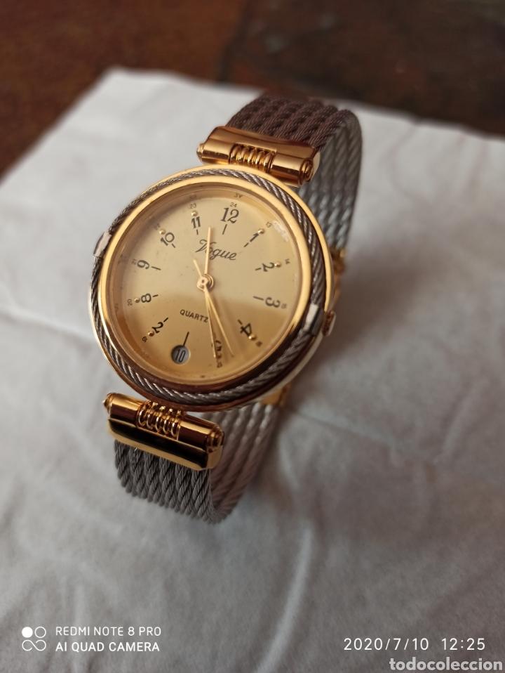 RELOJ VOGUE CALENDARIO CUARZO NUEVO SIN ESTRENAR FUNCIONA PERFECTO (Relojes - Relojes Vintage )