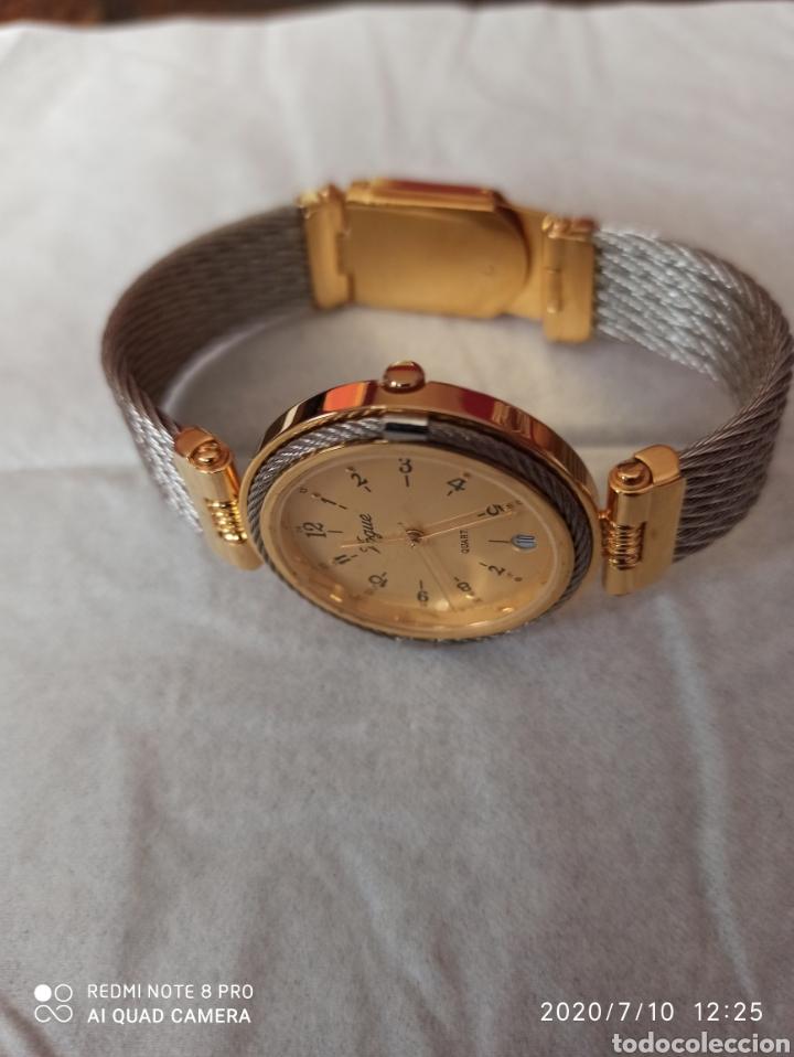 Vintage: Reloj Vogue calendario cuarzo nuevo sin estrenar funciona perfecto - Foto 2 - 211276451